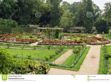 Blumengarten In Sanssoucipark, Potsdam, Deutschland