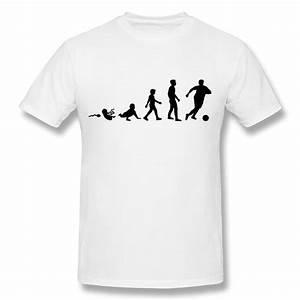 Cooles T Shirt : round neck men 39 s t shirt evolution soccer cool logos t ~ A.2002-acura-tl-radio.info Haus und Dekorationen
