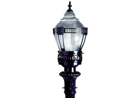 outdoor decorative pole lights ge torch ii post top luminaire t2h current by ge