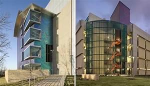 Fossilized Limestone Enhances University Campus - Page