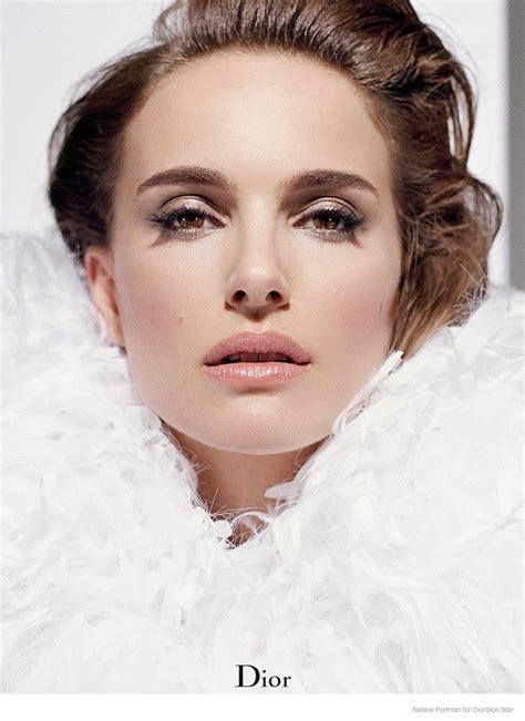 Natalie Portman For Diorskin Star Foundation Campaign