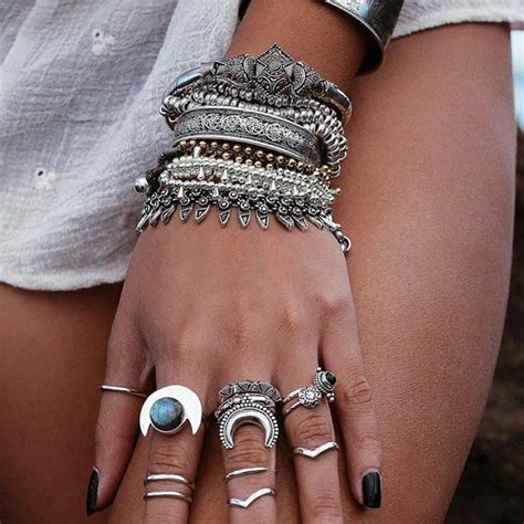 gorgeous boho jewelry  hippy retro style
