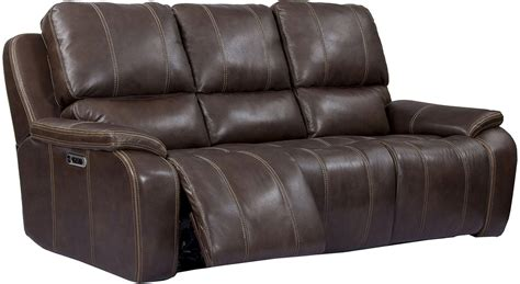 Leather Dual Reclining Loveseat With Console by Potter Genuine Leather Power Dual Reclining Sofa Usb