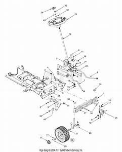 Mtd 13ar608p731  2004  Parts Diagram For Axle  Wheels