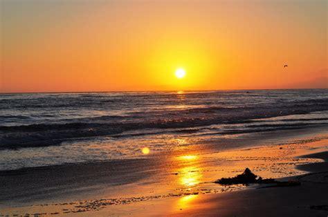 Sunset Beach Ca California Beach Sunset Hd Desktop Wallpaper Instagram