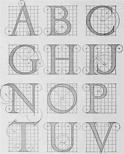 letter forms With architecture letters alphabet