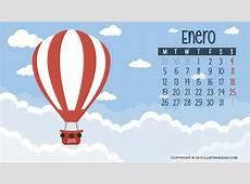 Descarga Calendario Enero 2015 IlustraIdeas