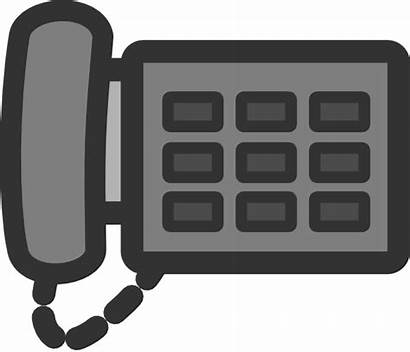 Office Phone Telephone Clipart Clip Clipground Clker