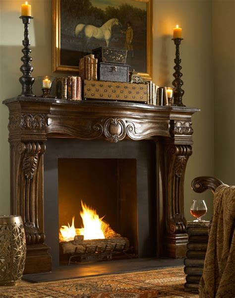 images  ornate fireplaces  pinterest
