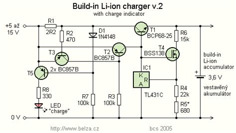 li ion battery charger  tl