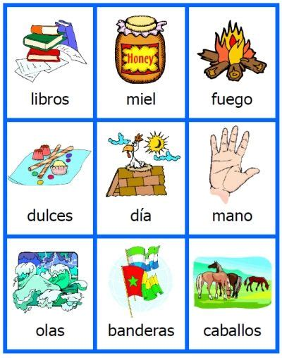 spanish noun cards printables  acticles flashcards