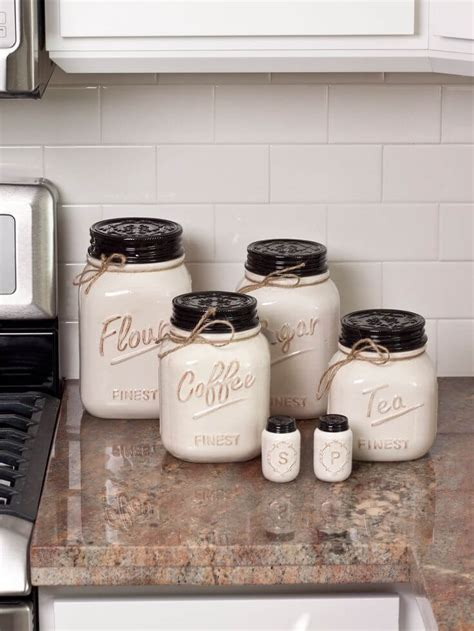 farmhouse kitchen canisters 38 best farmhouse kitchen decor and design ideas for 2017