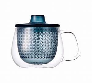 Mug Infuseur Thé : mug kinto unimug infuseur th bleu 35cl ~ Teatrodelosmanantiales.com Idées de Décoration