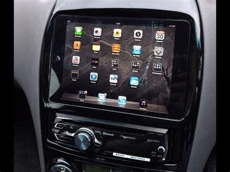 apple ipad mini custom car dash float mount install toyota celica jdm gts vvtli youtube