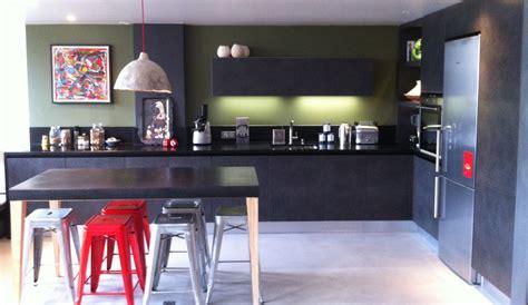 style de cuisine moderne cuisine moderne de style industriel modèle arpège