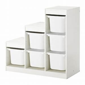 Ikea Aufbewahrung Boxen : trofast storage combination with boxes white 99 x 44 x 94 cm ikea ~ Frokenaadalensverden.com Haus und Dekorationen