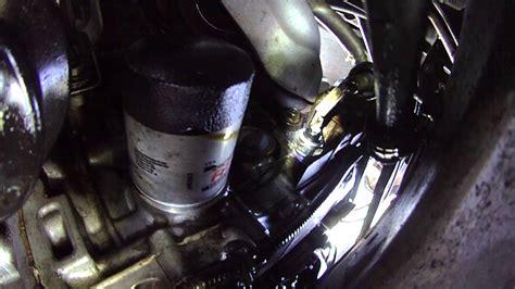 honda crv oil leak oil pressure sensor location youtube
