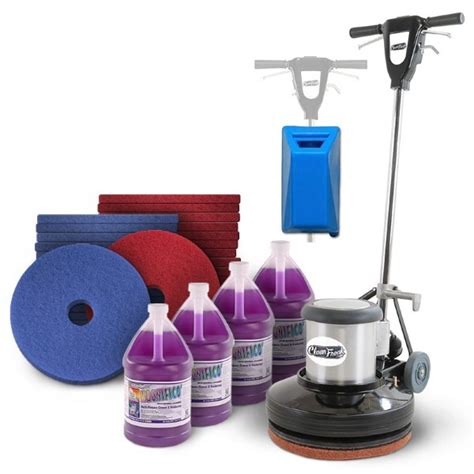 Commercial Floor Scrubbers Machines by Commercial Floor Buffer Cleaning Package
