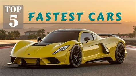 top  fastest super cars  youtube