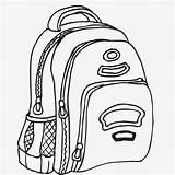 Drawing Bag Desk Textbook Line Drawings Learning Paintingvalley Getdrawings sketch template
