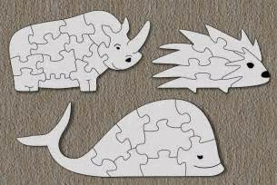 free scroll saw patterns by arpop rhino hedgehog whale puzzles for