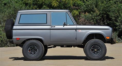 icon 4x4 makes jaws drop across the sema floor bronco goodness inside