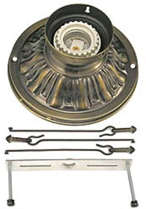 vintage hardware lighting stem and ceiling kits