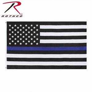 Thin Blue Line Flag | Fire & Fuel Apparel