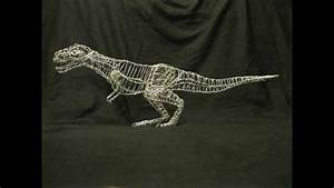 T-rex Wire Sculpture