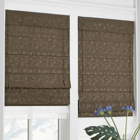 double roman shade curtain draperycom