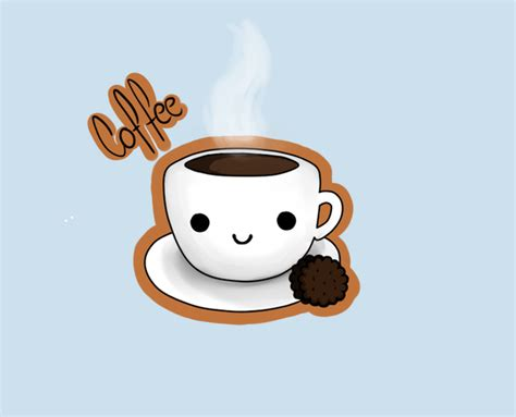 Cute Kawaii Coffee Pictures, Photos, And Images For