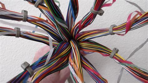 pair telephone cable model  corpus callosum  bra flickr
