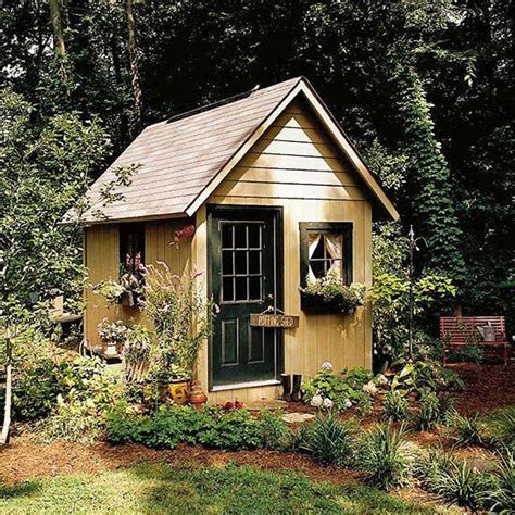 12 Garden Shed Plans  Skjul Och Inspiration
