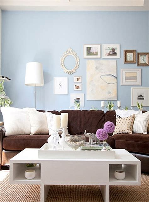 Living Room Ideas Brown Sofa Color Walls by Simple Details Freshen Up Your Brown Sofa