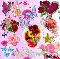 Animated Flowers and Butterflies