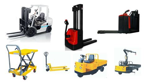 Different Types Of Material Handling Equipment Used In