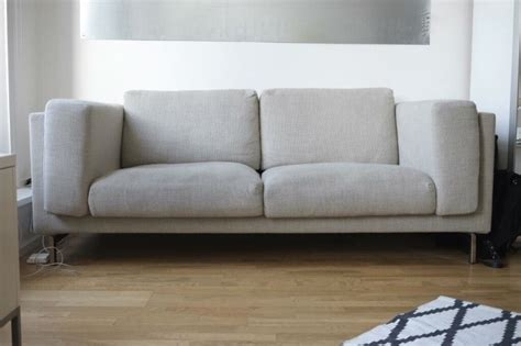 2 Seat Sofa With Chaise Long (ikea Nockeby)