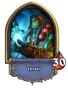 thrall hearthstone wiki