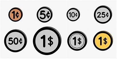 Clip Cent Coin Money Coins Transparent Kindpng