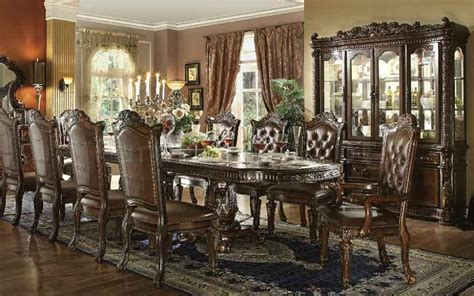 Formal Living Room Sets For Sale by 62000 Vendome Large Formal Dining Room Set In Cherry
