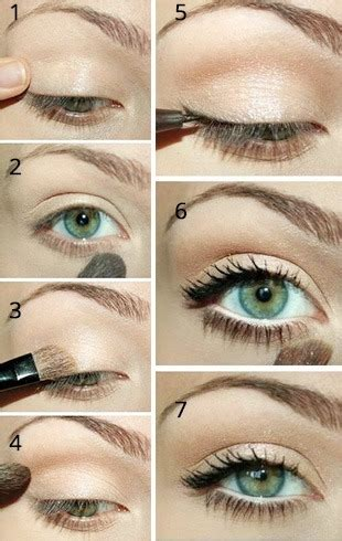 au naturale eye makeup tips  college  pyts bat  eyelids