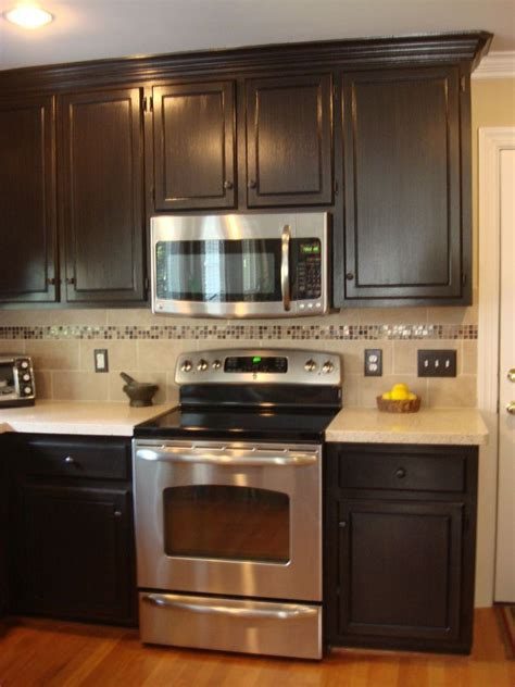 painted and glazed kitchen cabinets home improvement