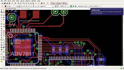 Eagle Cad Pcb Keyboard Mouse Software Width
