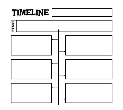 timeline template  kids    documents