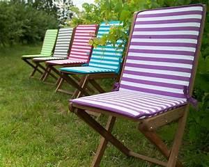 Coussin De Chaises : coussin de chaise marini re de jardin priv salon de jardin 40 nouveaut s outdoor journal ~ Teatrodelosmanantiales.com Idées de Décoration