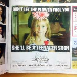 Crematorium's Weird Ad Campaign With Cute Kids Has ...
