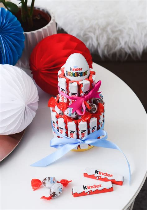kinder torten deko kinderschokolade muffins torte mehr f 252 r kindergeburtstag