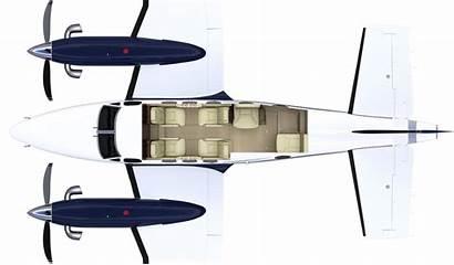 King Air C90 Beechcraft 90 Aircraft Interior