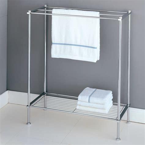 stylish  standing towel racks  outstanding bathroom