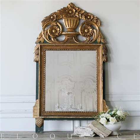 Eloquence French Country Style Vintage Mirror 1930